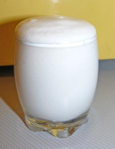 Chantilly de crème de coco