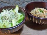 Duo de salades {Verte etprotéinée}
