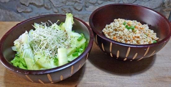 Duo de salades à la Lignac