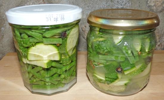 Légumes lacto-fermentés