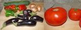 Les bons légumes du potager (salades, ratatouille, tarte à la tomate et légumes lacto-fermentés) {Vegan}