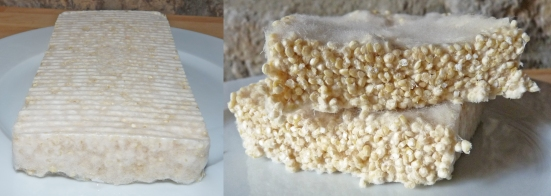 Tempeh de quinoa