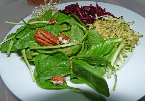 Trio de salades