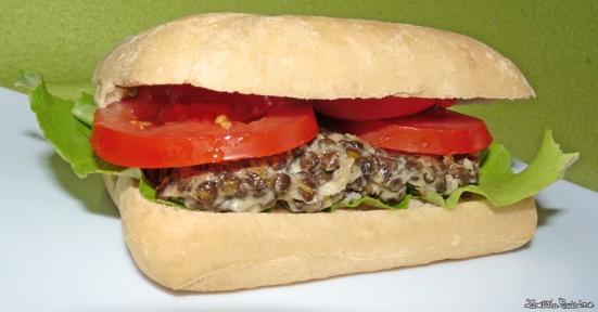 Lentilles burger