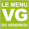 Menu VG du vendredi 15 janvier 2016 {Un repas végane entreamis}