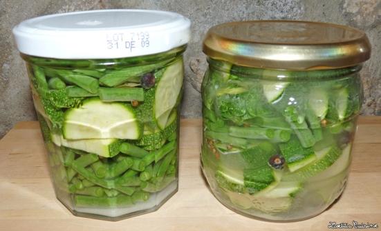 Légumes lactofermentés avant fermentations
