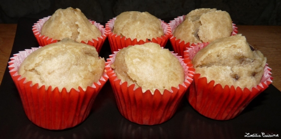 Muffin coeur nuttela
