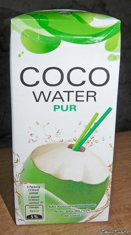 """Eau de coco """"Coco water pur"""""""