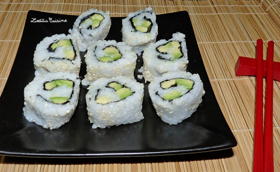 California makis à l'avocat