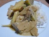 Curry vert végane