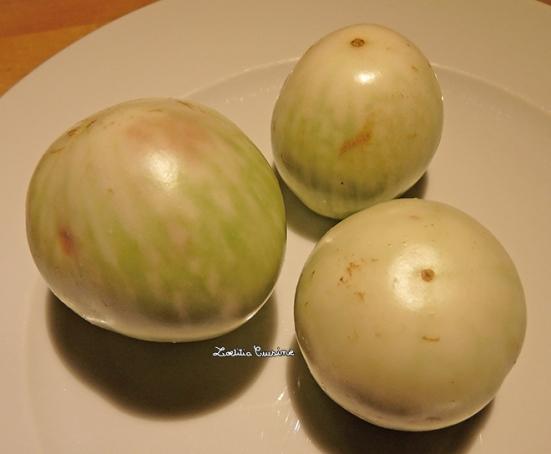 Mini-aubergines