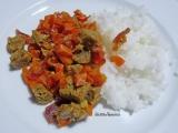 Sauté de seitan aux carottes à l'aigre-douce