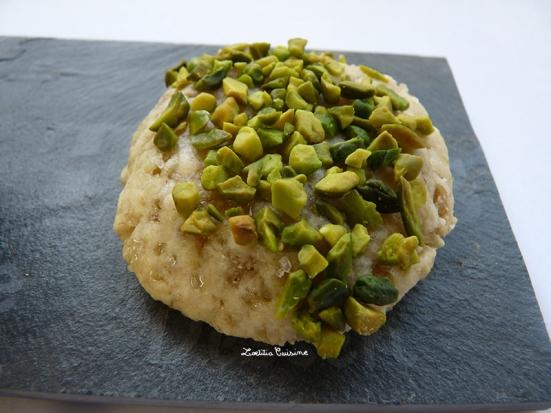 Biscuit amandes, pistaches et combava