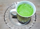 Potage de vert deblettes
