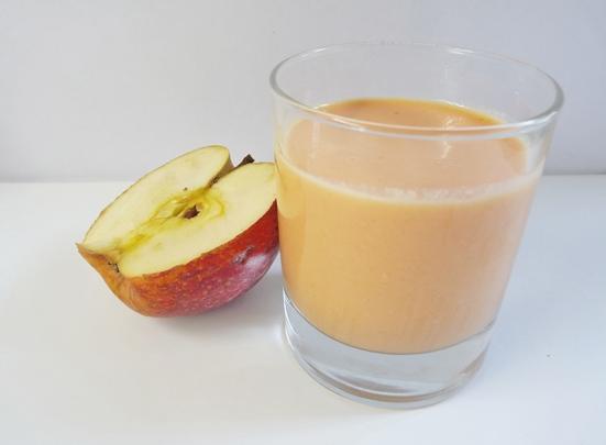 Smoothie protéiné pomme carotte