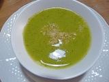 Potage brocoli, choux-fleur, fenouil, curcuma etquinoa
