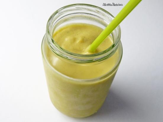 Velouté de concombre au lait de coco et à la menthe