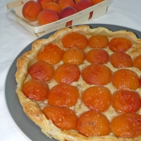 Tartes aux abricots du Valais {Végane}