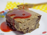 Pudding salé aux aubergines, romarin et son huile aupaprika