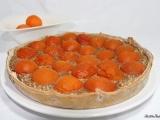 Tarte amandine aux abricots du valais{Végane}