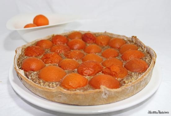 Tarte amandines aux abricots du valais
