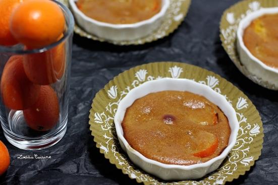 Minis clafoutis aux kumquats
