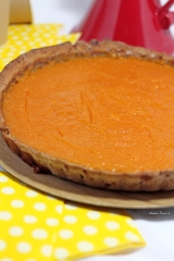 Papaya & pumkin pie {Vegan}