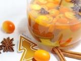 Vin de noël (vin blanc, kumquats, badiane etcannelle)
