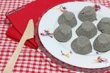 Petits crottins de sésame noirs (fromagevegan)