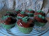 Muffins menthe chocolat{vegan}
