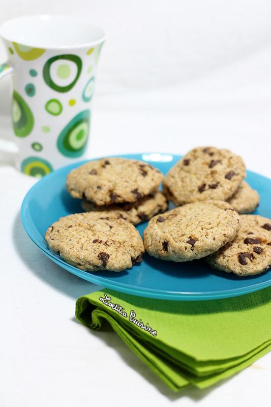 Cookies beurre de cacahu te et chocolat vegan loetitia cuisine vegan - Cookies beurre de cacahuete ...