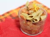 Salade de pâtes aux carottes rôties saucetahini