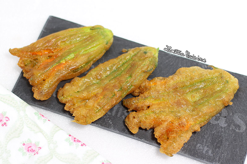 Beignets de fleurs de courgettes l ail vegan loetitia cuisine vegan - Beignets de fleurs de courgettes ...