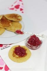 Blinis végétaliens et caviar végétal sucré {Battle food#25}