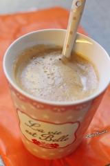 Café au lait à la courge et aux épices{Vegan}