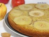 Moelleux aux pommes et à la pâte d'amande{Vegan}