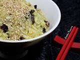 Salade de rave à la pomme d'inspiration japonaise{Vegan}
