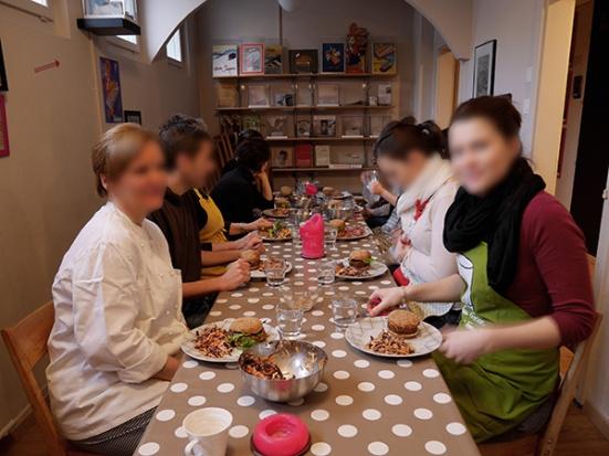 Atelier de cuisine végétalienne spécial burger