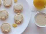 Mini tartelettes de lemon curd aux haricots blancs{Vegan}