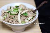 Nouilles soba aux champignons shimeji{Vegan}