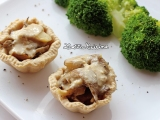 Tartelettes de chanterelles sauce fromagère {Vegan} – Tu peux ou tu peux pas?