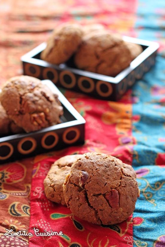 Cookies dorés sans gluten