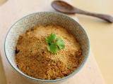 Pâté de carottes crues, noisettes et coriandre{Vegan}