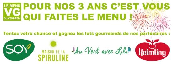 Concours 3 ans menu VG