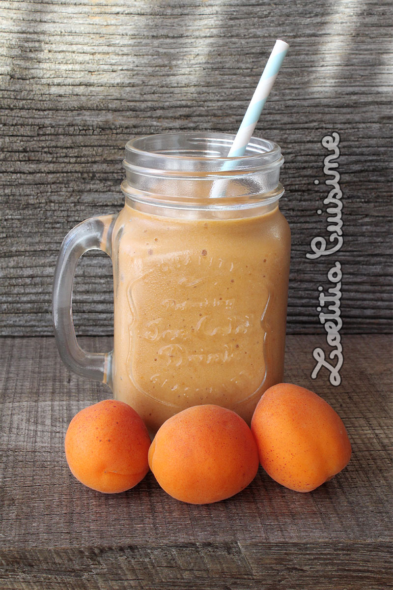 Smoothie aux abricots du Valais