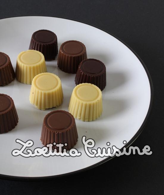 Chocolats véganes maison