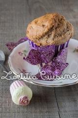 Banana muffin aux épices de Noël{Végane}