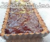 Tarte au chocolat, noix de pécan et caramel{Végane}
