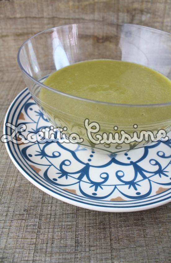 Soupe de lentilles au citron
