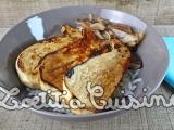 Shirashi de Pleurotes du panicaut et oignonsconfits